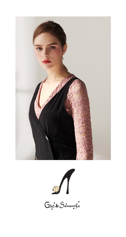지오앤사만사(GIO&SAMANTHA) 여성수제화 장식 플랫 소가죽 SM2102KIBK 블랙 1/2/3/5/6cm 수제화